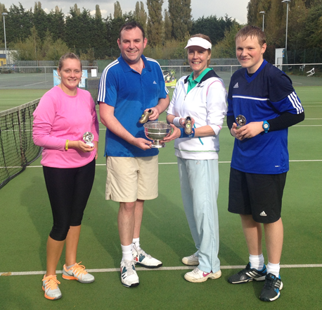 2014 Mixed Doubles Finalists